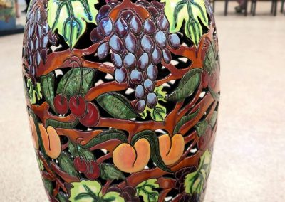 Summer Show River Pottery Vase 1
